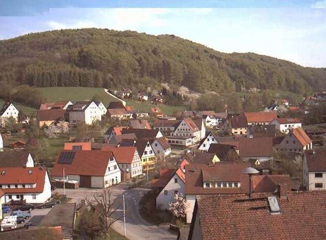 Osternohe_Ortsmitte (Foto: Webcam Osternohe)